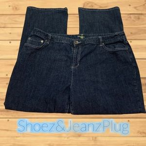 Style&co embroidery bootcut  size 20w women